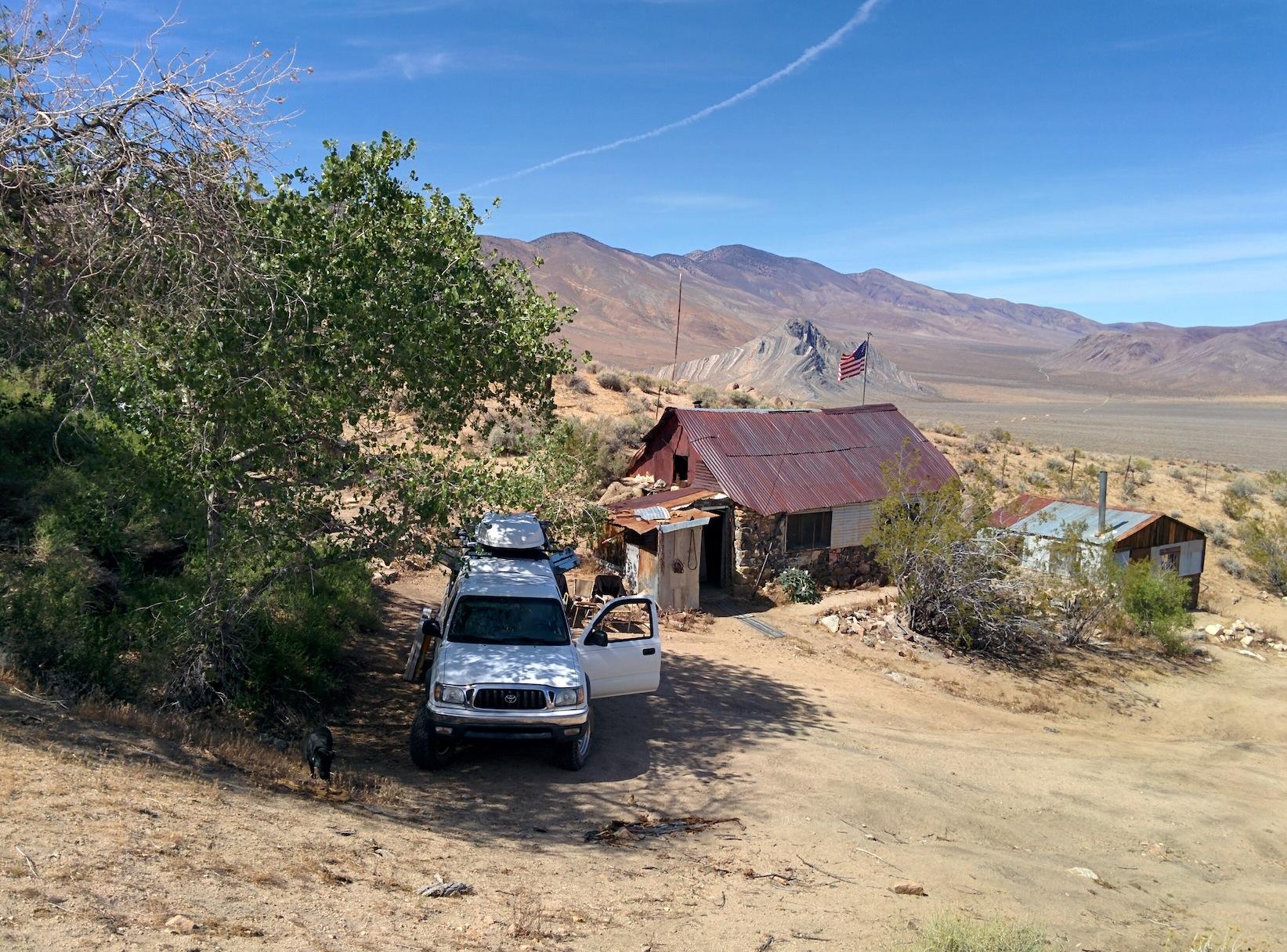 Stella S Mengel S Cabin In Death Valley Adventures With Dog