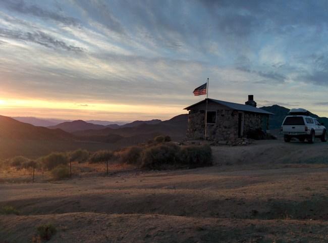 Sunrise at the Cabin