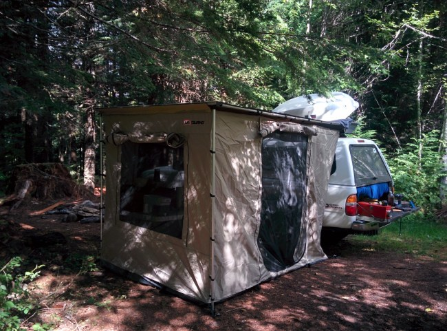 Set Up Our New ARB Tent