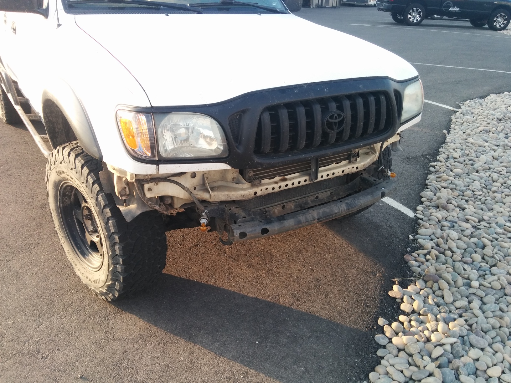 The Trials And Tribulations Of Our New Front Bumper