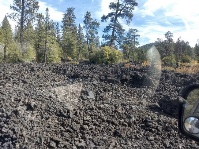 Knee-High Lava Flow