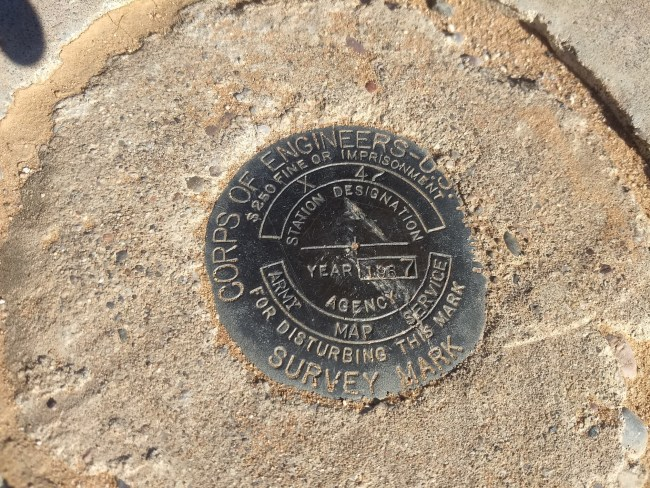 X 47 Targets's Survey Marker