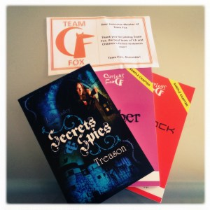 Curious Fox bundle, including Secrets and Spies: Treason by Jo Macauley