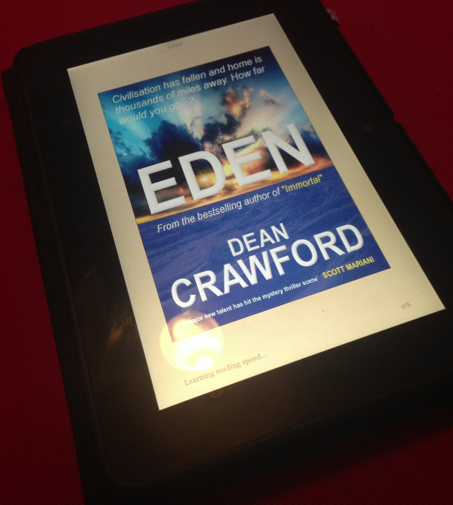 Review: Eden by Dean Crawford