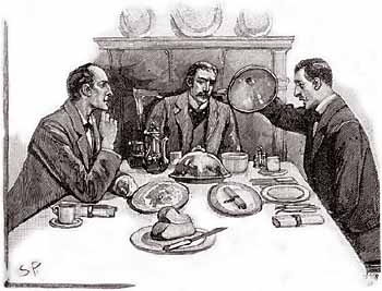 Sherlock must prevent a case of international importance in The Adventure of the Naval Treaty