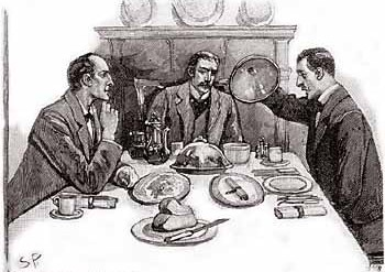 A kidnapped man and the first appearance of Mycroft in The Adventure of the Greek Interpreter