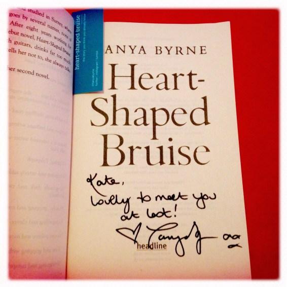 Heart Shaped Bruise - Tanya Byrne