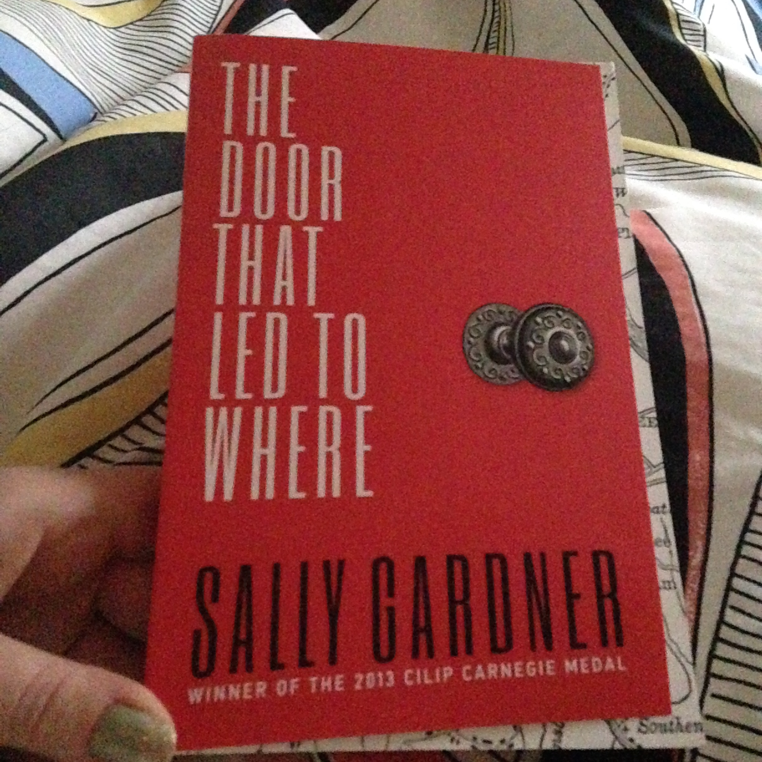 Review: The Door That Led To Where by Sally Gardner