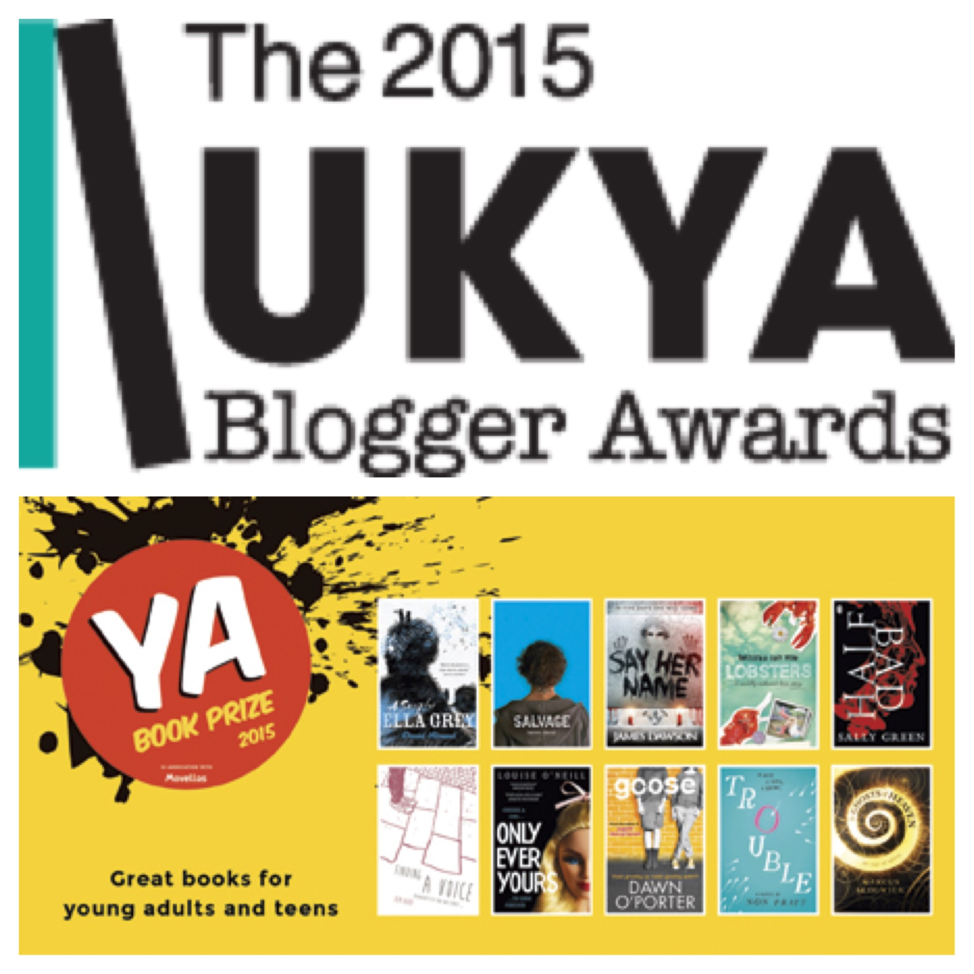 Podcast: UKYA Blogger Awards and the YA Book Prize
