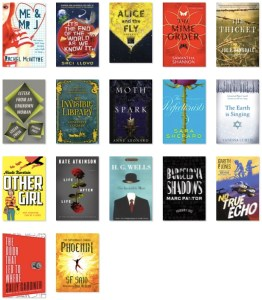 Kate's GoodReads Challenge 2015, books 1 to 17
