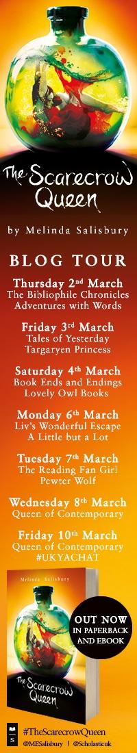 The Scarecrow Queen blog tour Banner