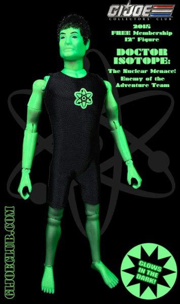 Catch Doctor Isotope while you can. Just be sure to wear some protective gloves! He's radioactive, ya know!