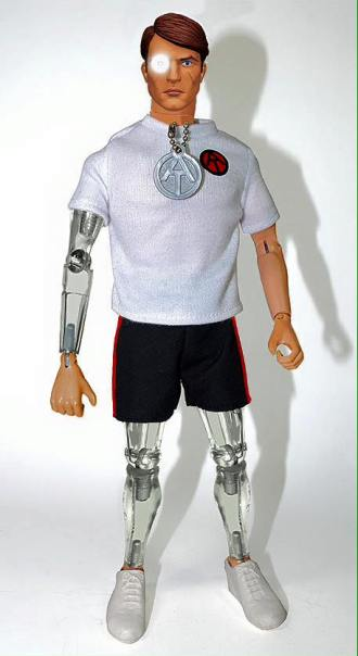 Mike looks better than ever, with LED eye, two bionic legs and a revamped head sculpt.