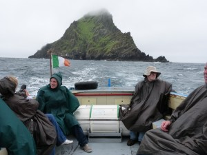 The Return Trip, Skellig Michael in the Background