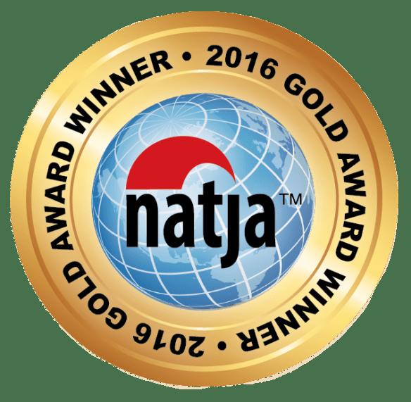2016 NATJA Awards Gold Winner Seal
