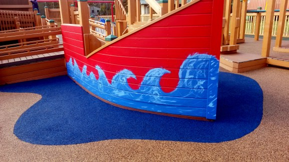 Handicap Accessible Playground Safety Flooring | Poured in Place Rubber Surface Installer | adventureTURF