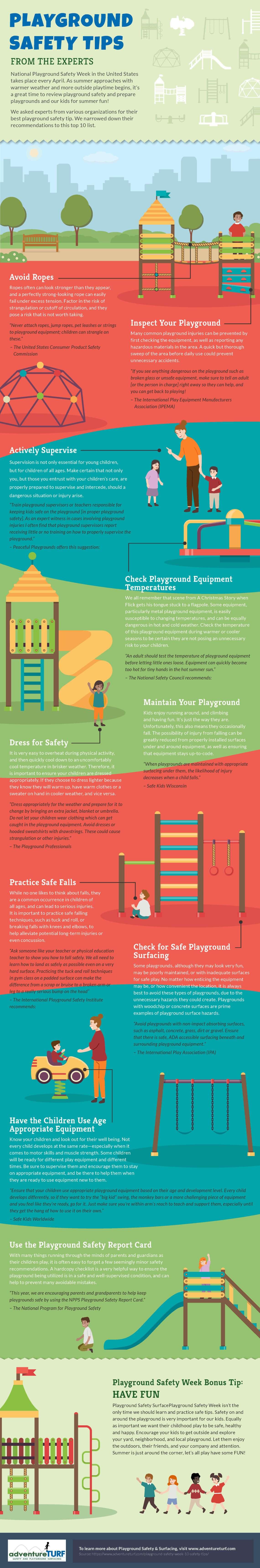 Playground-Safety-Week-Infographic