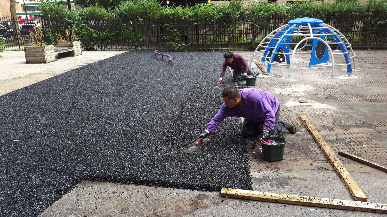 How Much Does Poured Rubber Playground Cost? (2019