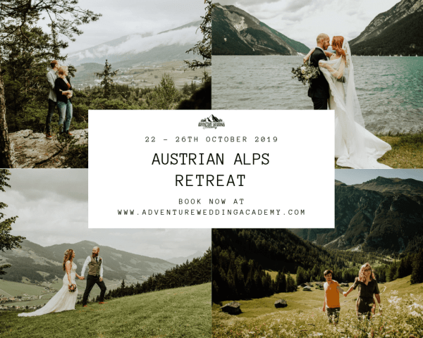 Austrian Alps Retreat Collage Image