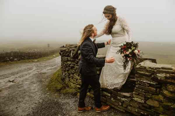 An elopement at the Cliffs of Moher in Ireland by Wild Connections Photography