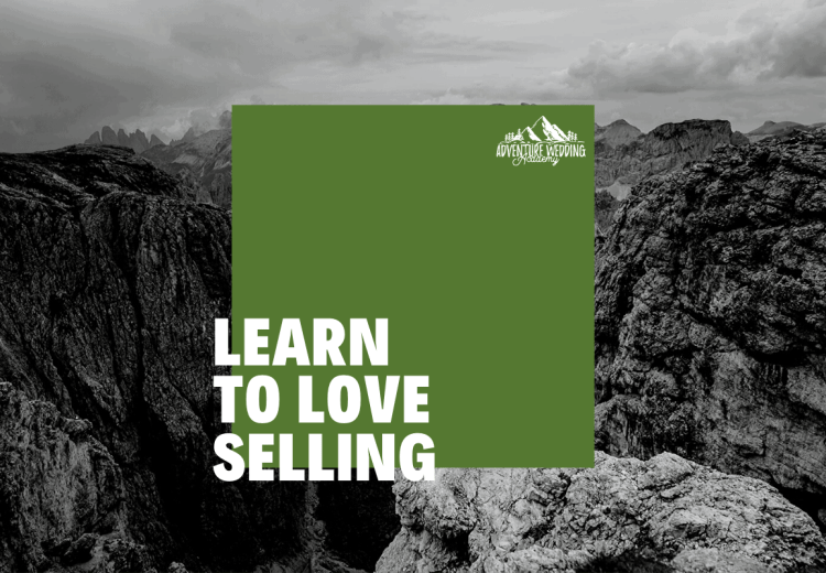 blog graphic - learn to love selling