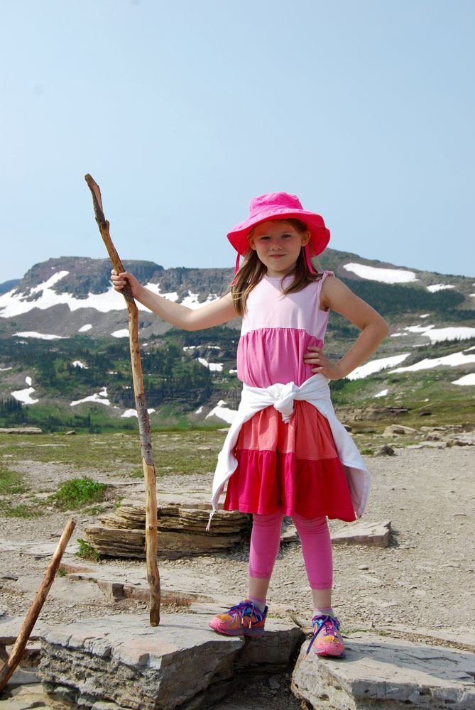 Essential gear for hiking with kids. www.adventuringbeyond.com