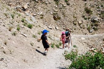 Top Family-Friendly Hikes in Glacier National Park. Apikuni Falls. www.adventuringbeyond.com