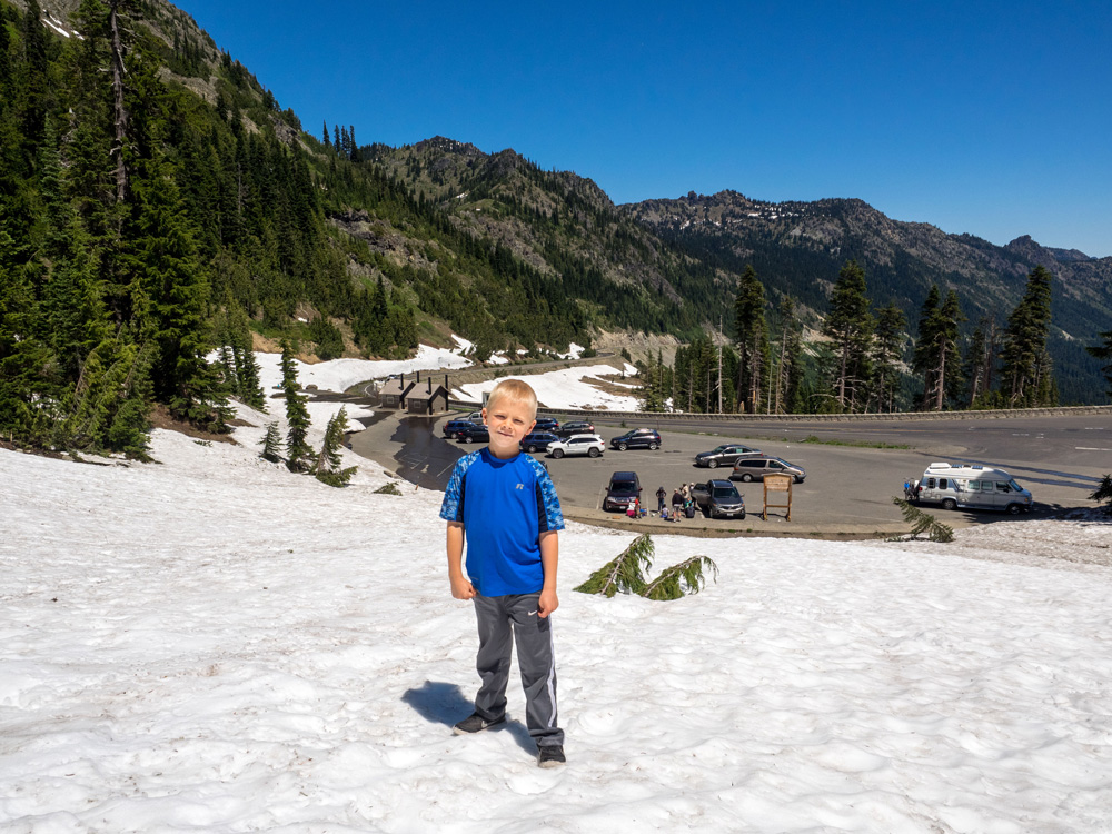 Snow. Mount Rainier National Park. www.adventuringbeyond.com