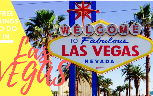 Free and Cheap Things to do in Las Vegas- The Adventuring Millennial