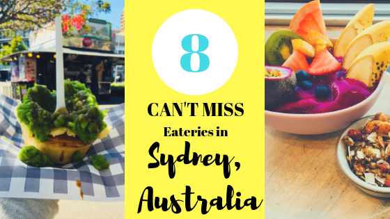 8 Cool Places to Eat in Sydney- The Adventuring Millennial