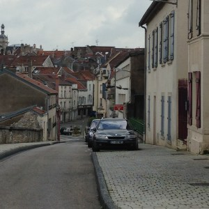 Narrow Streets and Cobbled Paths in Chaumont, France