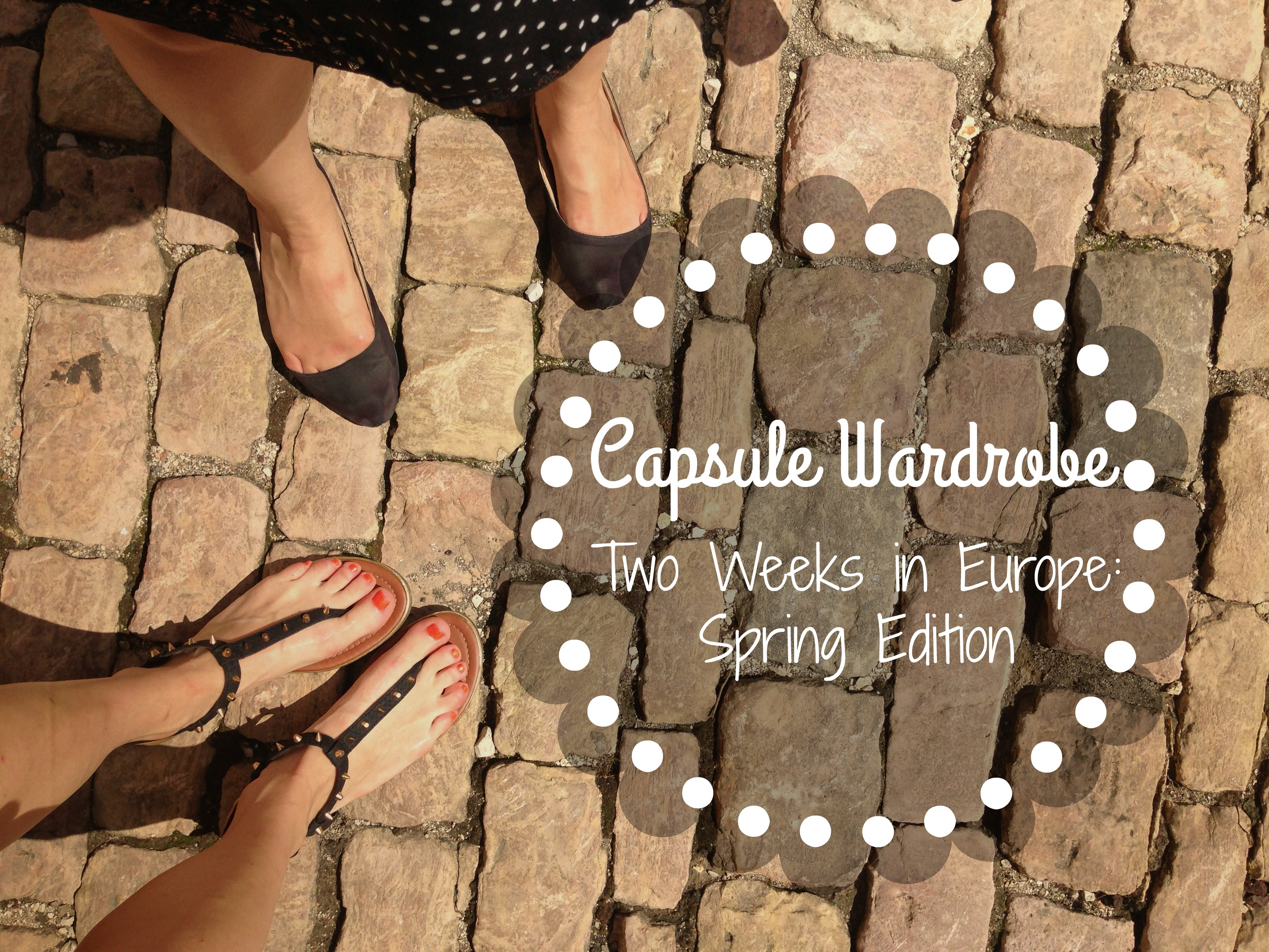 Two Weeks in Europe: What to Wear!?
