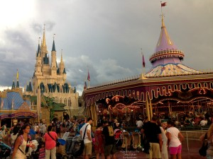 The Magic Kingdom After Rain