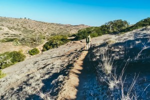 """alt=""""zach on the trans catalina trail"""""""