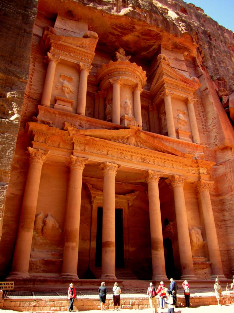 Visiting Petra in Jordan