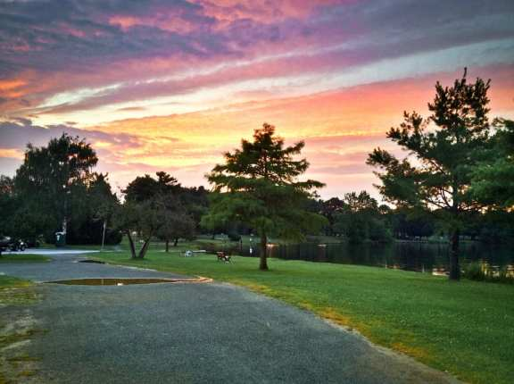 Lake Q Sunset