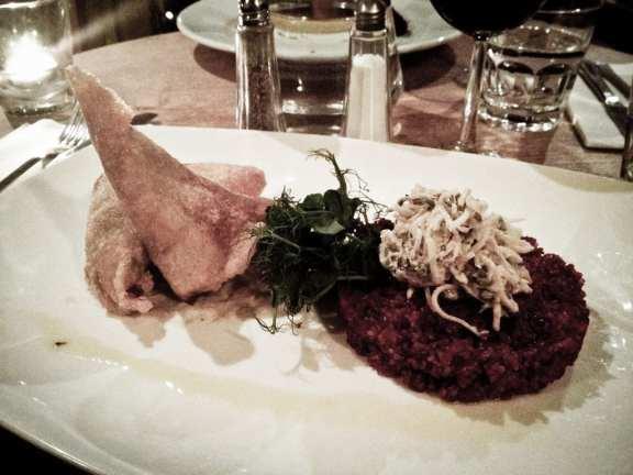 Dinner at Stravaigin