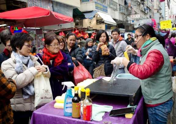 Mong Kok Crowd