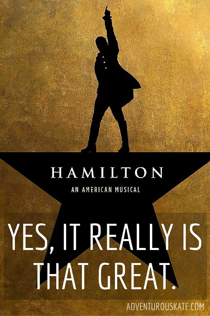 Yes, Hamilton really is that great! Here's why.