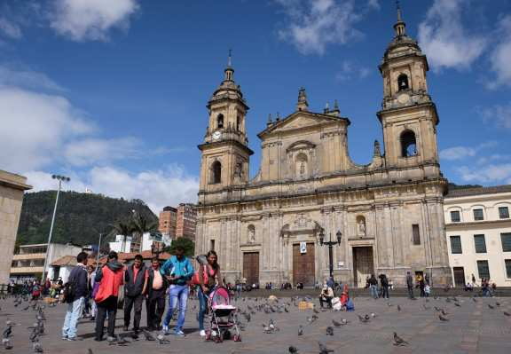 Bogota Plaza Bolivar