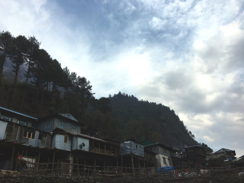 everest base camp diary day 1