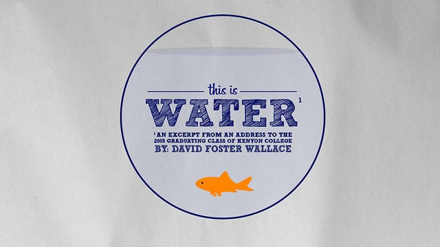 This is Water - Short Film - David Foster Wallace