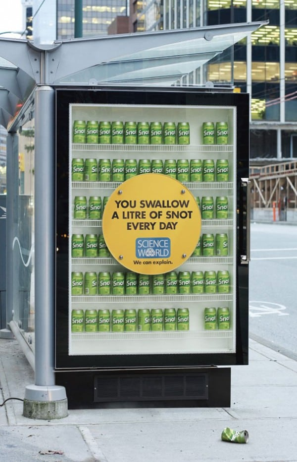 Ordinary Outdoor Advertising Ideas Part - 13: Creative-outdoor-advertising-ideas-science-world