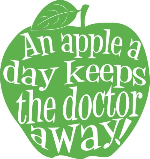slogans-on-health-an-apple-a-day