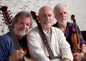 Andy Irvine, Terry Woods and Johnny Moynihan.
