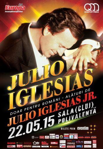 Julio Iglesias Cluj-Napoca