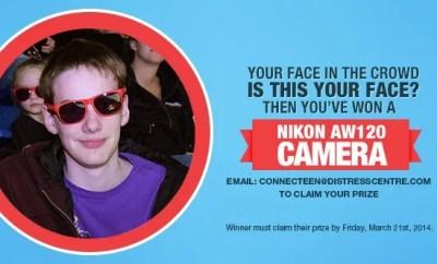 #FaceInTheCrowd Winner of a Nikon AW120