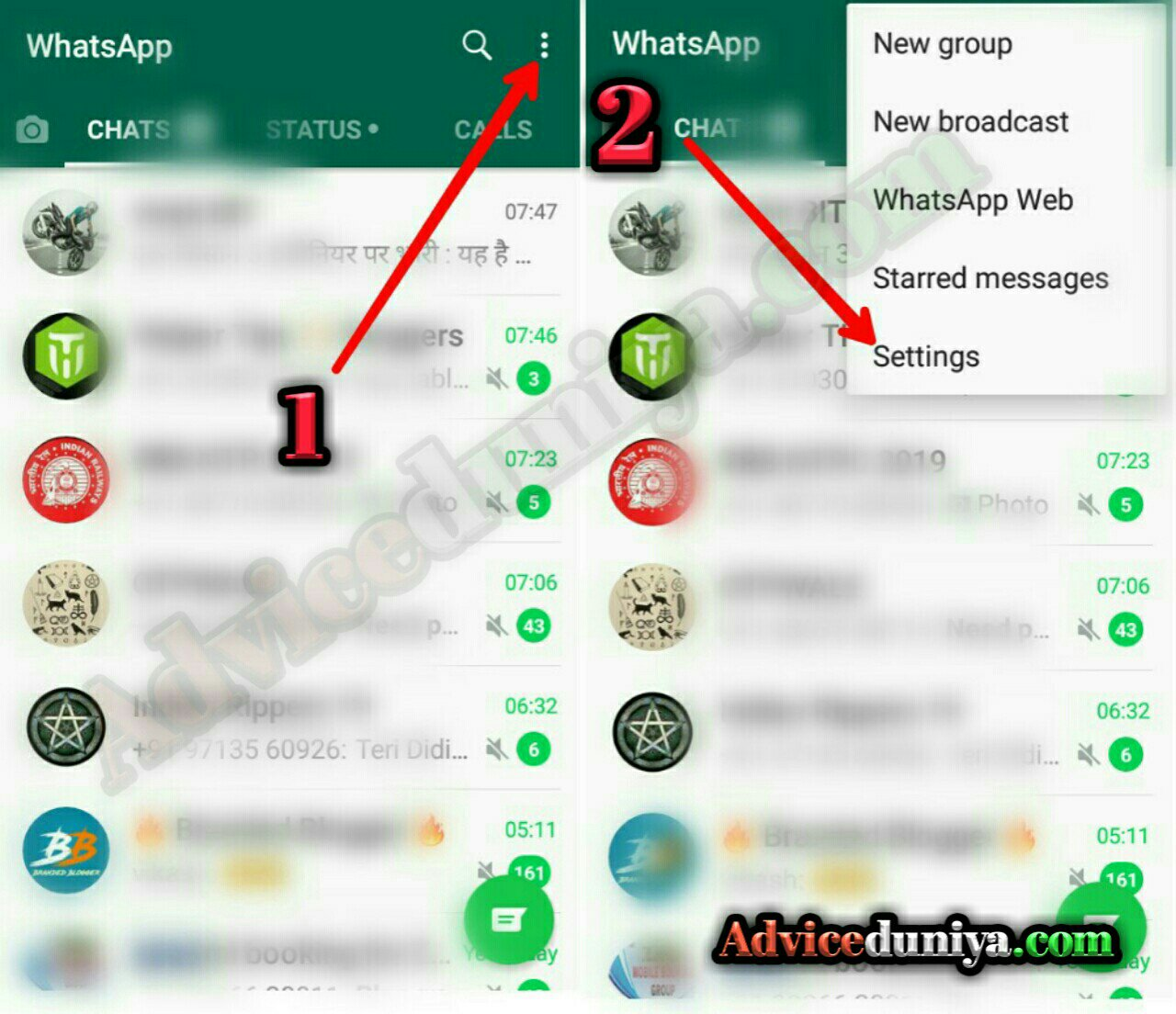 Whatsapp me dark mode kaise kare