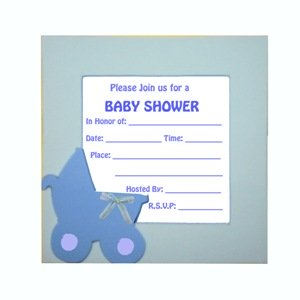 Homemade Baby Shower Invitations Advice For Pregnant Moms