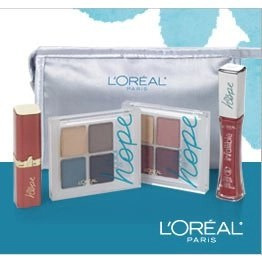 L'Oreal Paris Color of Hope Cosmetics Bag Aids Ovarian Cancer Research